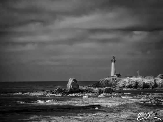 Pigeon Point Lighthouse in Infrared by Elvis Rowe on 500px