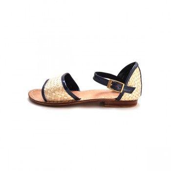 Navy Palavas Sandals