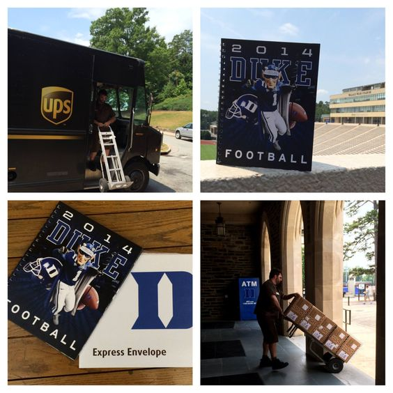 Duke Football tickets are on the way! Tag us when you get them! #GoDuke #DukeGang