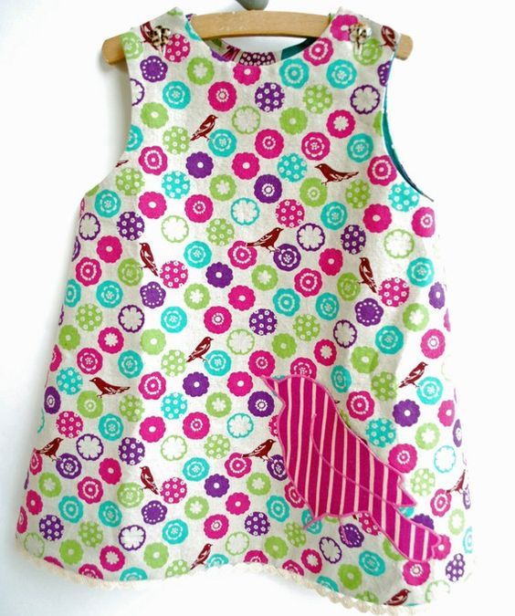 Bird Pocket Dress