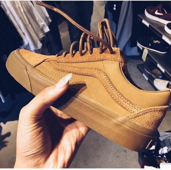 Brown Shoes in 2020 | Sneakers, Sneaker boots, Sock shoes