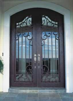 Florida Approved Hurricane Rated Iron Door Decor
