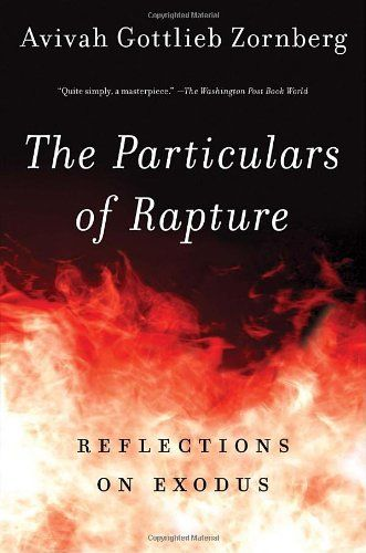 The Particulars of Rapture: Reflections on Exodos,  Avivah Gottlieb Zornberg. The stories of Exodus - a magnificent tapestry of classical biblical, talmudic, and midrashic interpretations; literary allusions; and insights from the worlds of philosophy and psychology into a narrative that gives us fascinating new perspectives on the biblical themes of exodus and redemption.