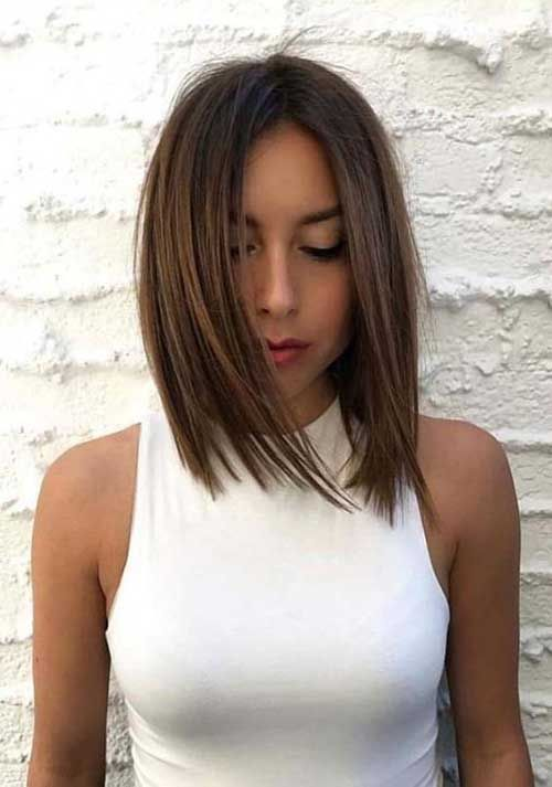Bob Haircut And Hairstyle Ideas Haircuts Straight Hair Straight Hairstyles Straight Bob Hairstyles