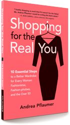 Fashion book I illustrated for writer and fashion blogger Andrea Pflaumer!  www.shoppingfortherealyou.com