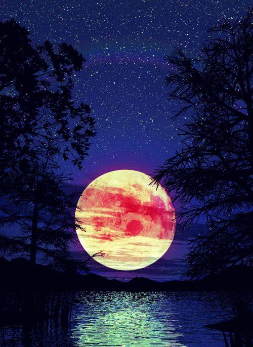 Moon...November Moon: Full-Frost Moon!