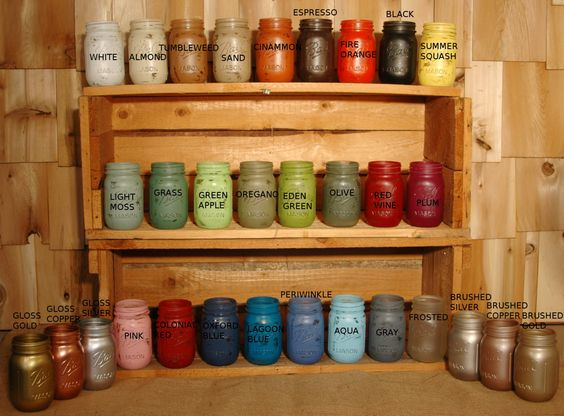 Build Your Own Collection of Mason Jars by PineknobsAndCrickets