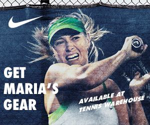 Click here to check out all of Maria Sharapova's gear!