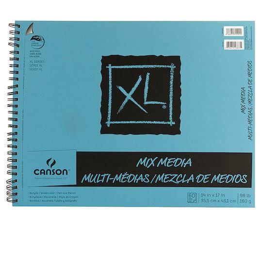 Canson Xl Mix Media Pad 14 X 17 Michaels Mixed Media