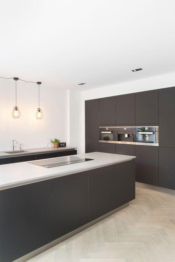 15 Gorgeous Black Kitchens Kitchen Room Design Home Decor Kitchen Modern Kitchen Room