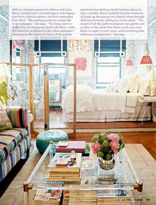 Girly bedroom.