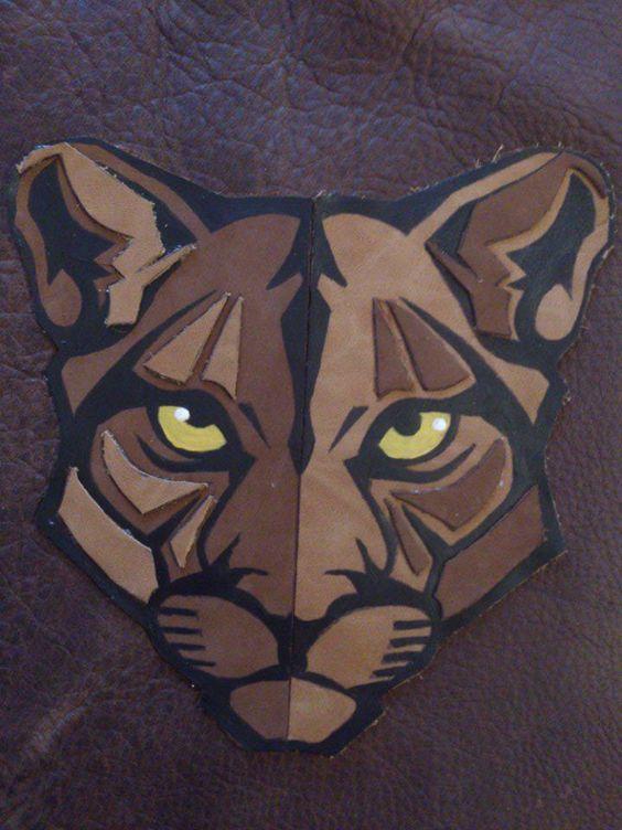 Puma hecho en cuero... Jadra Cadabra