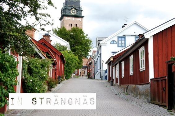 Strängnäs, Sweden. I was born and grew up in Strängnäs. My parents still lives in a house on this street!