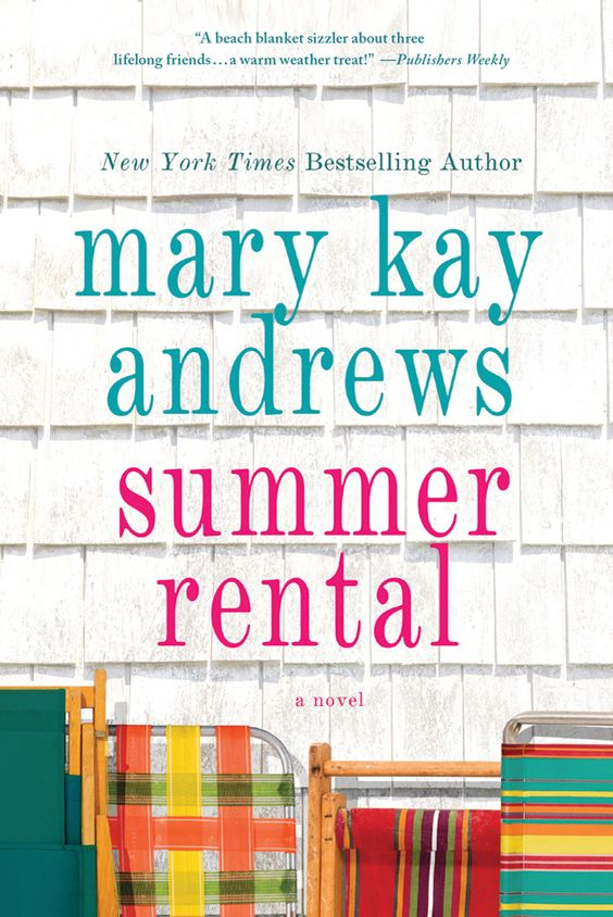 Just finished reading this wonderful book by Mary Kay Andrews. It's about 3 women who have know each other since elementary school. They meet up at Nags Head to stay in a Summer rental house for the month of August. Long time and newer secrets come out when these 3 women come together. They also get a very mysterious roommate. It 's another couldn't put down book.