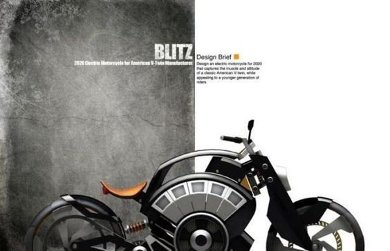 BLITZ Electric American Bike 3