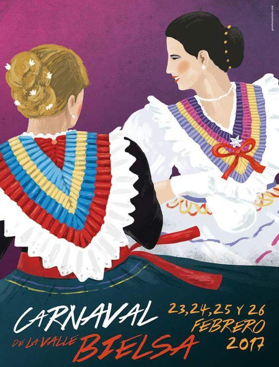 Carnaval de Bielsa 2017 Huesca: