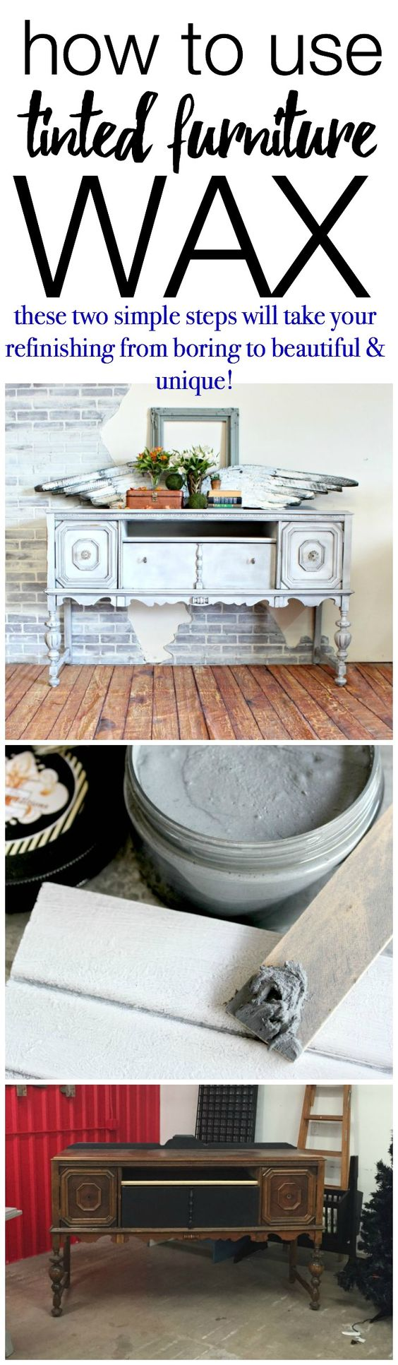 Read More Wood Furniture And Furniture Wax On Pinterest