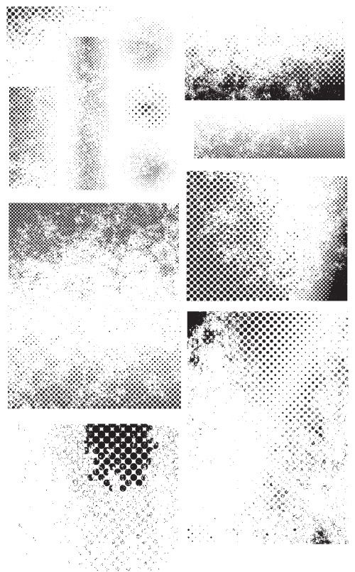free vector grunge halftone - photo #2
