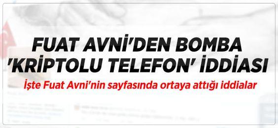"""Fuat Avni twitter hesabından """"8. Almanya istihbaratı kriptolu yazılıma sızıp MİT ve Kandil arasındaki görüşmeleri kayda aldı."""" bilgisini paylaştı."""