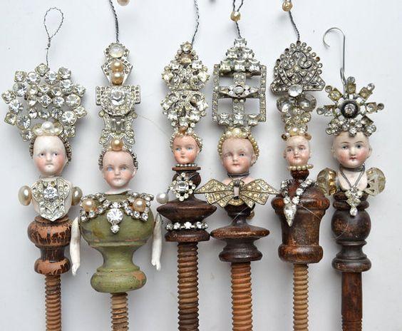Grand Dutchess number 22 an original art doll by ElizabethRosenArt: