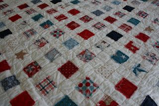 QUILT BARN: 4th of July Ticker Tape Quilt