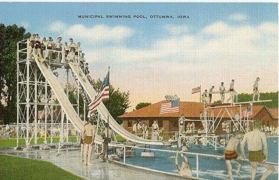 The old municipal swimming pool iowa my hometown - Decorah municipal swimming pool decorah ia ...