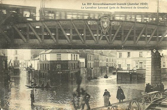 1910 – La crue de la Seine | Paris Unplugged