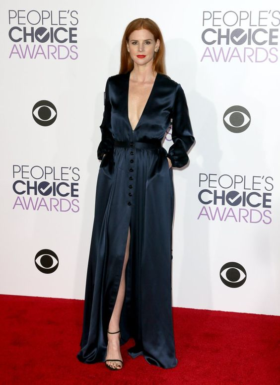 Pin for Later: Le Tapis Rouge des People's Choice Awards 2016 Était Plus Glam Que Jamais Sarah Rafferty