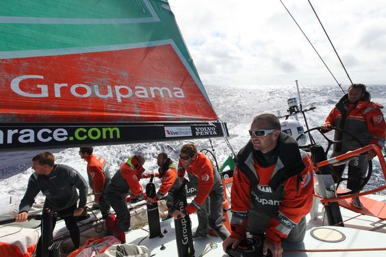 Leg 4 - Day 18 / Groupama in the Volvo Ocean Race