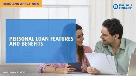 Bajaj Finserv Personal Loan Features And Benefits In 2020 Personal Loans Person Credit Card Online