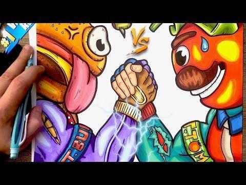 Chadessin Pixel Art Fortnite Youtube En 2019 Dessin Art