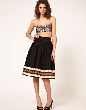 tex mex corset top and full skirt