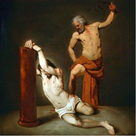 Image result for scourging of our lord