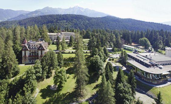 Waldhaus Resort_Panoramabild Sommer Suisse