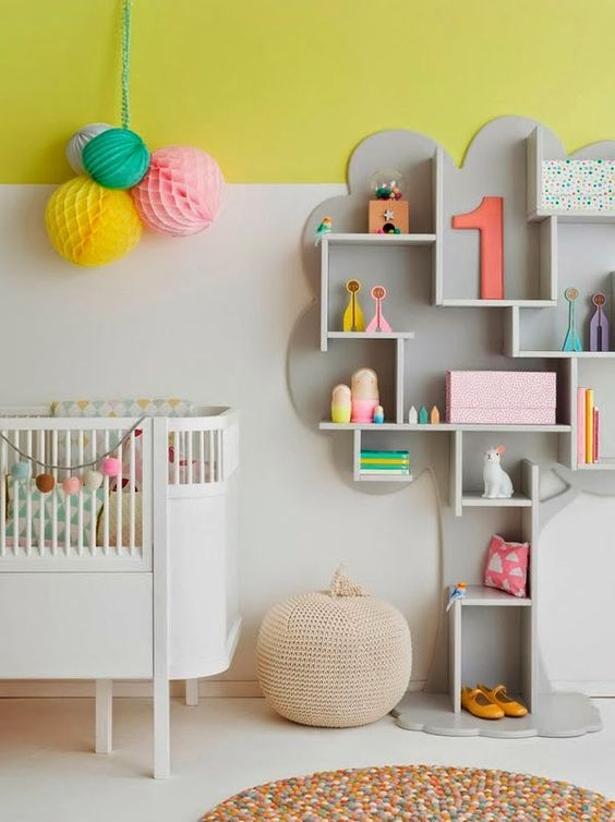 &suus | nesteldrang - kidsroom grey-yellow | ensuus.blogpost.nl i, Deco ideeën