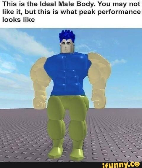 This Is The Ideal Male Body You May Not Like It But This Is What