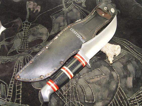 Schrade sheath knife vintage craftsman schrade walden 148 for Doris middleman