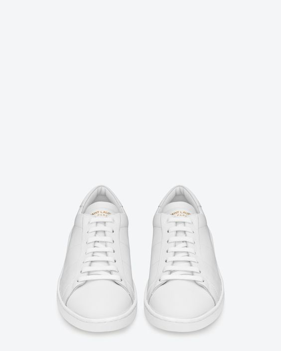 Image result for Saint Laurent Sl/01 Court Classic Optic White