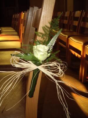 D coration glise pour mariage mariage pinterest mariage - Decoration eglise mariage champetre ...