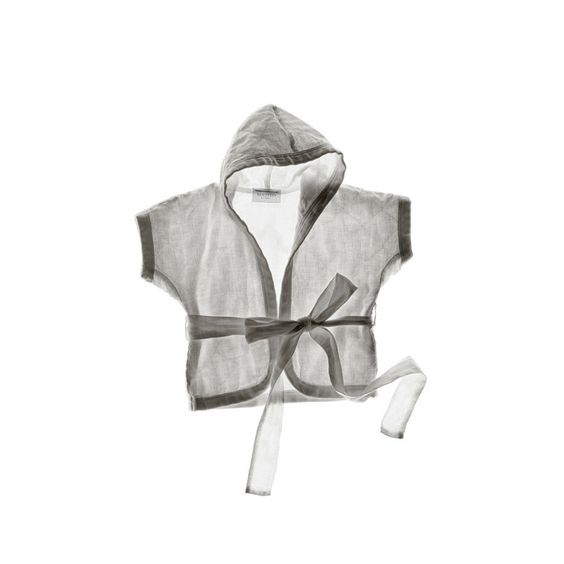 Ida Linen Hooded Jacket