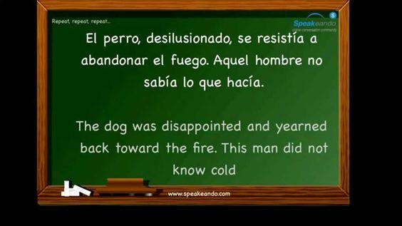 Practice Spanish verbs (II). Intermediate. www.speakeando.com