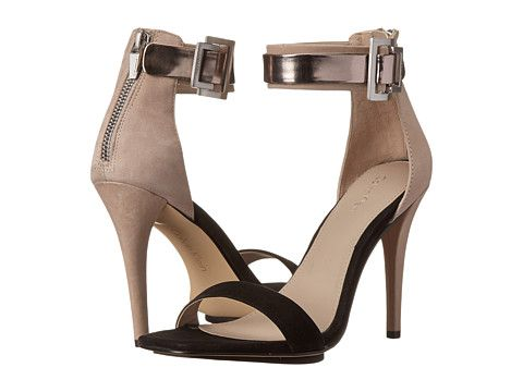 Calvin Klein Calvin Klein  SableGreige Nubuck Womens Dress Sandals for 59.99 at Im in!