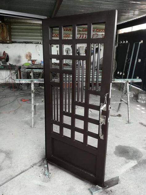 22 Ideas Metal Door Grill Irons In 2020 Door Gate Design Steel Door Design Grill Door Design
