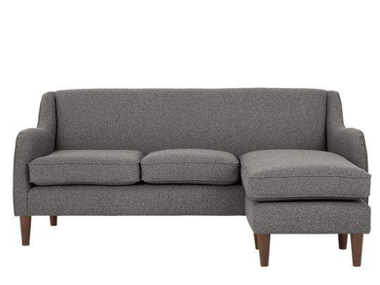 Helena 2 Sitzer Sofa Recamiere Flexibel Rauchgrau 2 Sitzer Sofa Sofa Recamiere