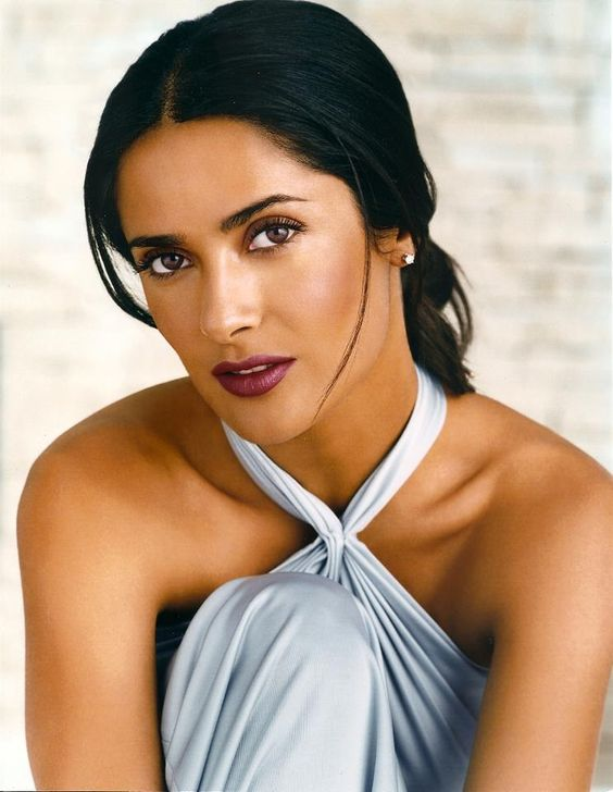 Salma Hayek is of Lebanese, Mexican and Spanish descent