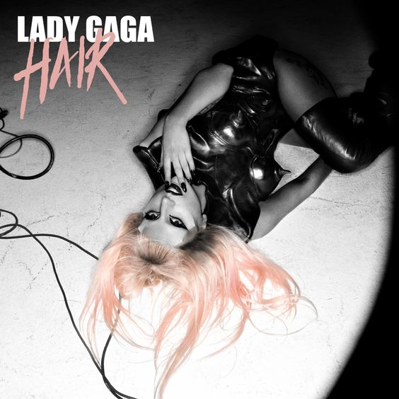 Lady Gaga – Hair (single cover art)