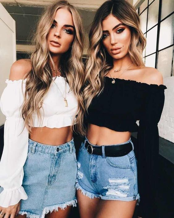 This is one of the best crop tops for summer 2018!