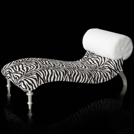 Pinterest the world s catalog of ideas for Animal print chaise longue