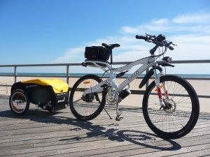 2 cyclists take on a 4000 mile Trans-American electric bike tour - interesting!
