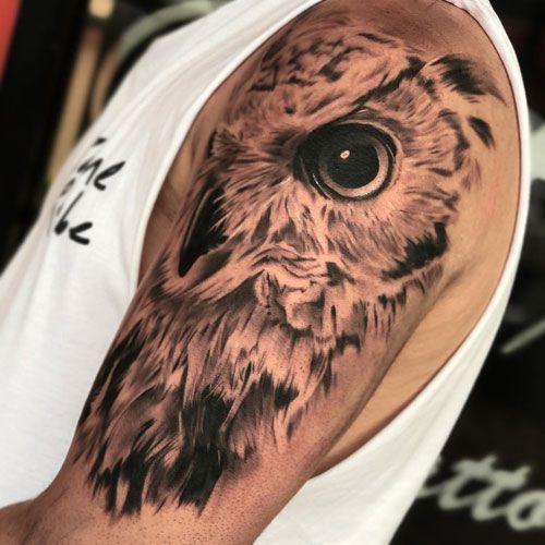Shoulder Owl Tattoo Designs Best Owl Tattoos For Men Cool Owl Tattoo Designs Ideas For Guys Tattoos Tattoos Mens Owl Tattoo Owl Tattoo Owl Tattoo Design